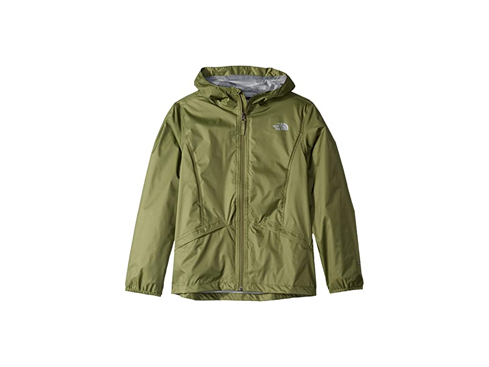 The North Face Kids Zipline Rain Jacket (Little Kids/Big Kids) (Four Leaf Clover) Girl