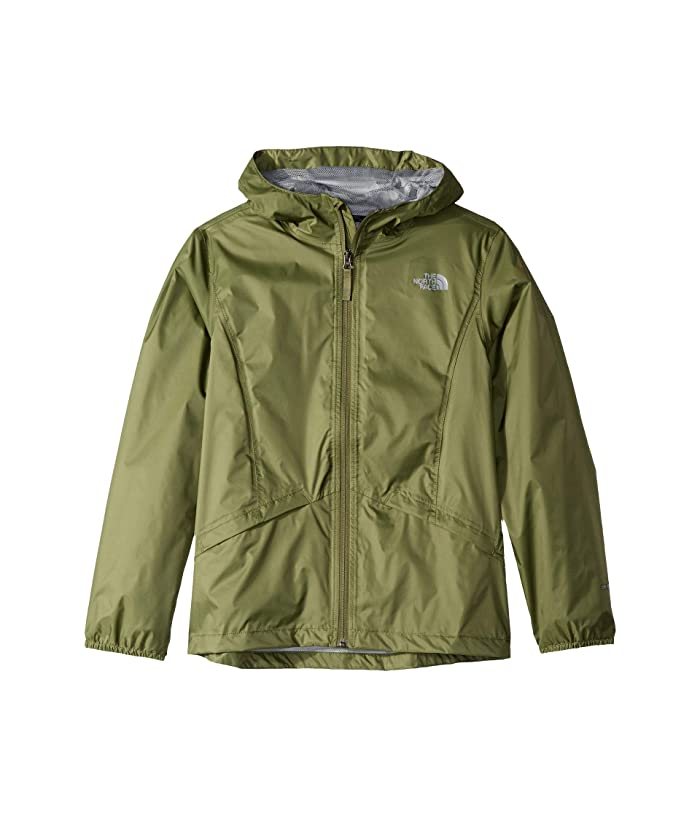 The North Face Kids Zipline Rain Jacket (Little Kids/Big Kids) (Four Leaf Clover) Girl's Coat