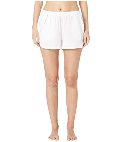 Skin Libby Organic Cotton Shorts (White) Women