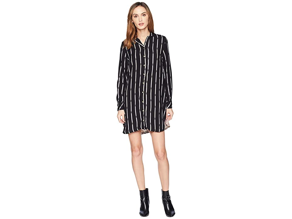 Tolani Alana Plaid Tunic Dress (Noire) Women