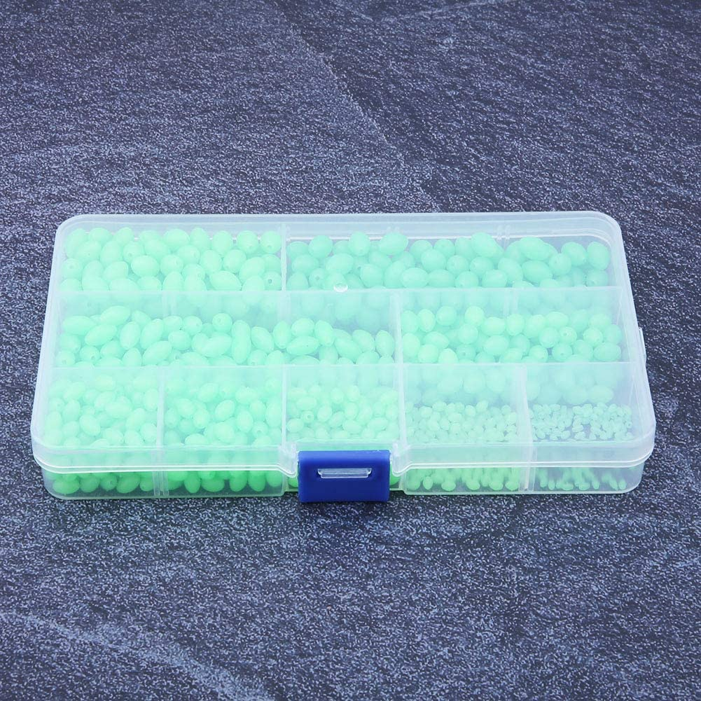 Vbestlife 900 PCs Fishing Beads Outlet ☆ Regular store Free Shipping Assorted Mod Multi Plastic Soft