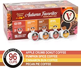 Autumn Favorites for K-Cup Keurig 2.0 Brewers, 96 Count, Victor Allen's Coffee Single Serve Coffee Pods