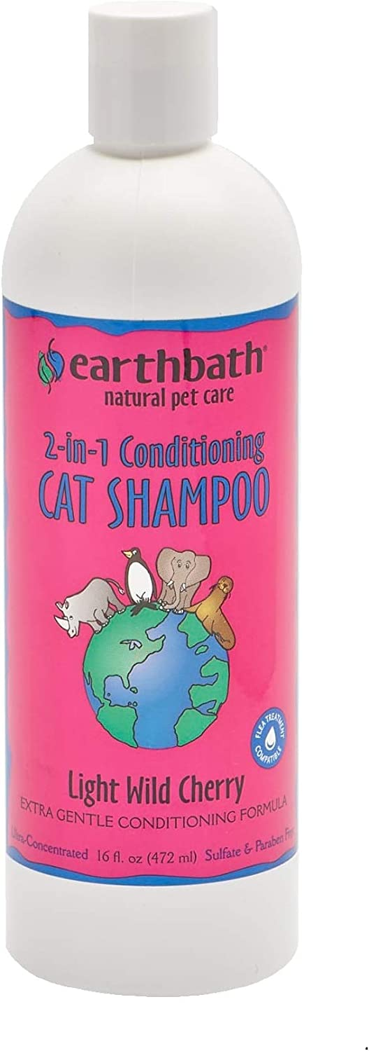 Earthbath All Natural Cat Shampoo and 2 Nashville-Davidson Mall Pack 1 lowest price Conditioner in