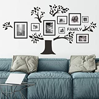 FlyWallD Family Quotes Wall Decals Living Room Lettering Vinyl Writing Sayings Art Sticker Picture Decor