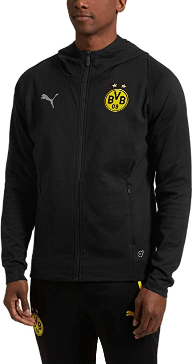 Amazon.com : PUMA Men's Borussia Dortmund Casuals Hoodie : Sports ...
