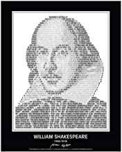 Inspirational William Shakespeare Quotes Poster. William Shakespeare Portrait made of William Shakespeare Quotes! Shakespe...