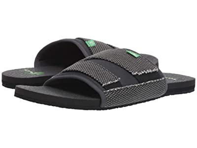 Sanuk Beer Cozy 2 Slide (Black) Men