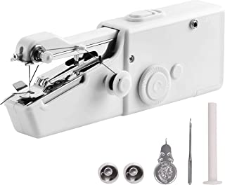 Handheld Sewing Machine | 100% Copper Motor | Free 24/7 Aftersale 1-1 Support & Consultation Regarding Sewing | 100% Satisfaction, Lifetime Surety! - White