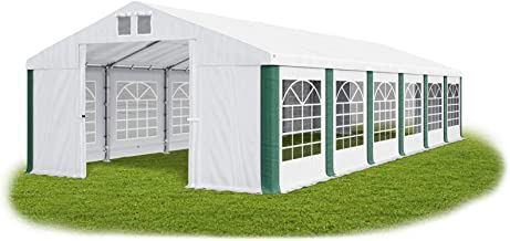 Feuersicheres Partyzelt 5x12m Festzelt Gartenzelt Pavillon