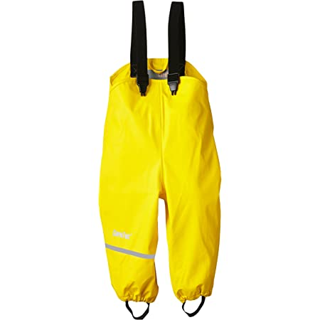 CareTec Pantalones Impermeable Unisex Niños, amarillo (Yellow 324), 74