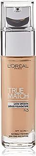 L'Oreal Paris True Match Liquid Foundation, N3 Nude Vanilla, 30ml