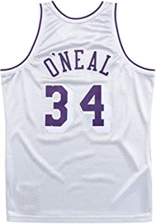 Mitchell and Ness O`Neal Platinum Lakers #34 Swingman Jersey (18476-LALSILV96SON)