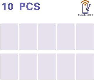 10 NFC Tarjeta ISO PVC Card NXP Ntag215 NFC Tag, Etiquetas NFC,Memoria de 504 bytes, Trabajo con Amiibo Tagmo -TimesKey