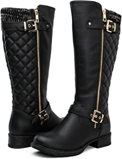 GLOBALWIN Women's 17YY01 Quilted Fashion Boots