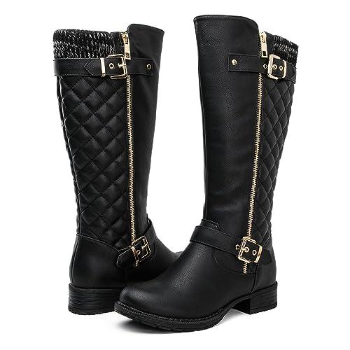 65728eb3fef Women's Tall Black Boots: Amazon.com