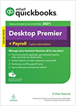 Intuit QuickBooks Desktop Premier + Payroll 2021 [PC Download]