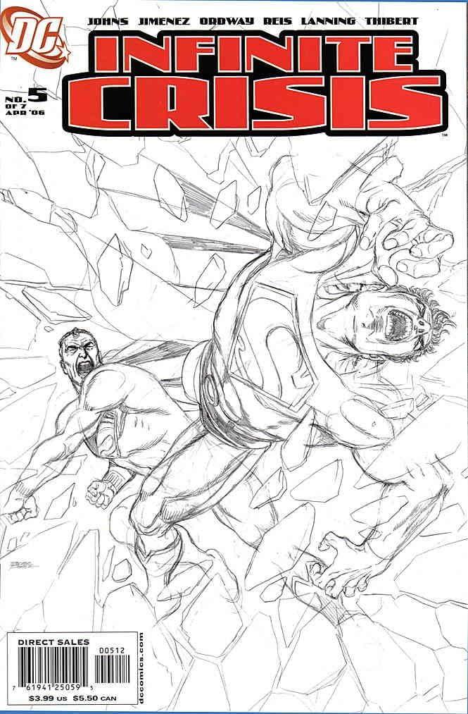 Infinite 2021 model Crisis #5 2nd VF NM comic ; DC Nippon regular agency book