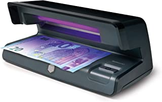 Safescan 50 Negro - Detector UV de billetes falsos,