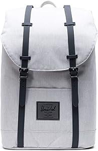 Herschel Retreat Backpack, Vapor Crosshatch, Classic 19.5L