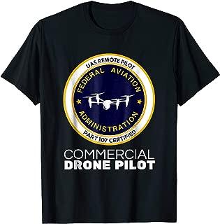 FAA Commercial Drone Pilot Tshirt