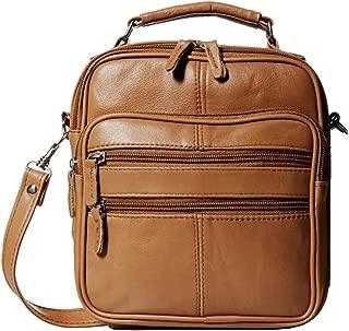 Goson Leather Shoulder or Camera Bag Handbag Unisex Travel Organizer