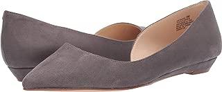 Nine West Women's Saige Slip-On Flat Grey