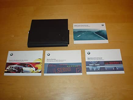 BMW E46 3 SERIES COUPE OWNERS HANDBOOK c/w WALLET (1998 - 2005) - 320Ci 323Ci 328Ci (320 323 328 Ci) OWNERS HAND BOOK MANUAL
