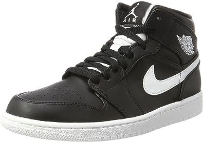 Nike Unisex-Child Air Jordan 1 Retro High Gs White/Black/Metalicgold 832596-209