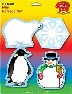 Winter Mini Notepad Set
