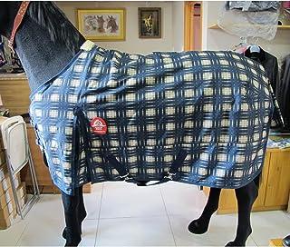 LOVEPET Couverture pour Cheval dhiver Haut De Gamme Coupe-Vent Et Imperm/éable en Tissu Oxford 600D Tr/ès /Épaisse Remplie De Coton De 320g