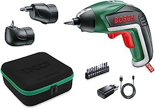 Sladdlös skruvdragare IXO kit från Bosch (vinkeltillsats och excentertillsats, 10 bits, USB-laddare, mjuk väska, 3,6V, 1,...