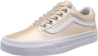 Vans Women's Old Skool Trainers, Pink ((Satin Lux) Blush/True White R1g), 7.5 UK 41 EU
