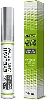 Natural Eyelash Growth Serum - Lash Booster & Eyebrow Enhancing Serum to Grow Thicker, Longer Lashes - Eyelash Enhancer an...