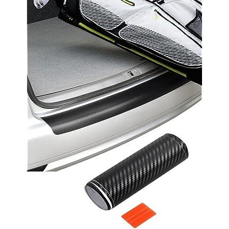 Ladekantenschutz Folie Lack Schutz Kratzer Carbon Schwarz Passend Für Alle Fahrzeuge Auto