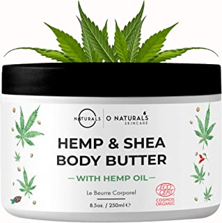 Sponsored Ad - O Naturals Organic Moisturizing Body Lotion Hemp Cream with Shea Body Butter. Rose Hip Oil Cellulite Cream ...