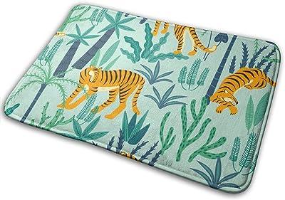 Pengyong Tiger tapete de Goma para Puertas Delanteras y Exteriores, tapete de Entrada de Flujo Grande, Alfombra estándar para el hogar, 60 x 40 cm: Amazon.es: Hogar