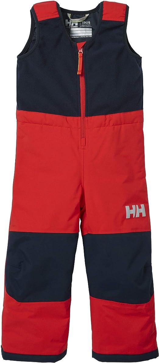 Helly-Hansen Kids /& Baby Vertical Insulated Fleece Upper Waterproof Legs Bib Pant