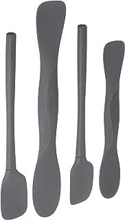 Tovolo All Silicone Mini Tool Set, Charcoal - Set of 4