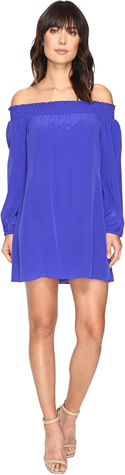 Nicole Miller - La Plage by Nicole Miller Rocky Off Shoulder Dress Cover-Up