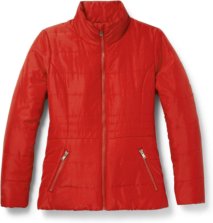 New York & Co. Women's Seamed Puffer Jacket