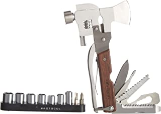 25-in-1 Ax Hammer/Ax /Wrench Multi Tool