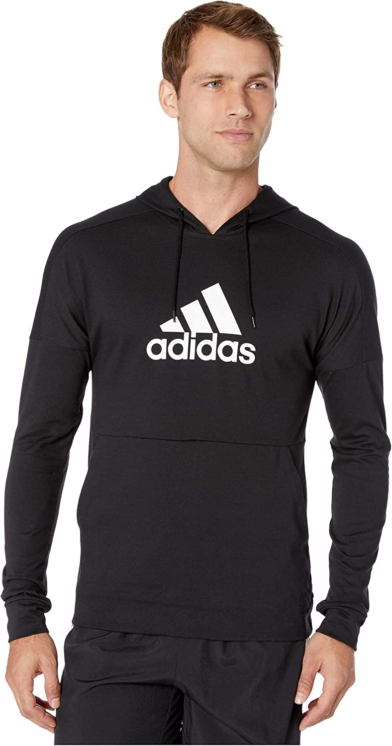 Adidas Mens Genuine Free Shipping Back to School White Pullover shipfree Hoodie Adult Black