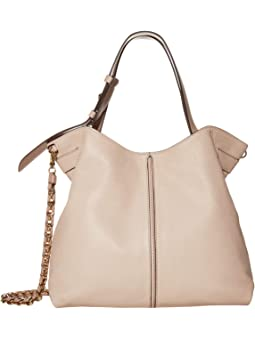 마이클 마이클 코어스 Michael Michael Kors Downtown Astor Large Shoulder,Soft Pink/Fawn