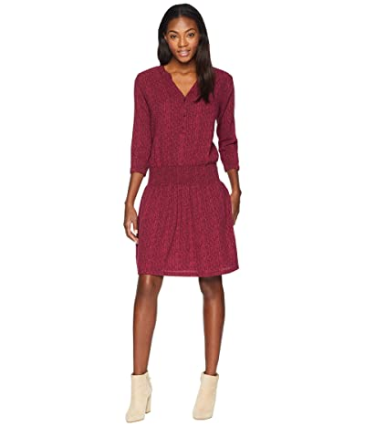Prana Sugar Pine Dress (Black Cherry Bodhi) Women