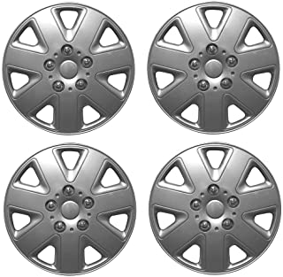 HYUNDAI i10 Car Wheel Trims Hub Caps Plastic Covers Phantom 14 Silver