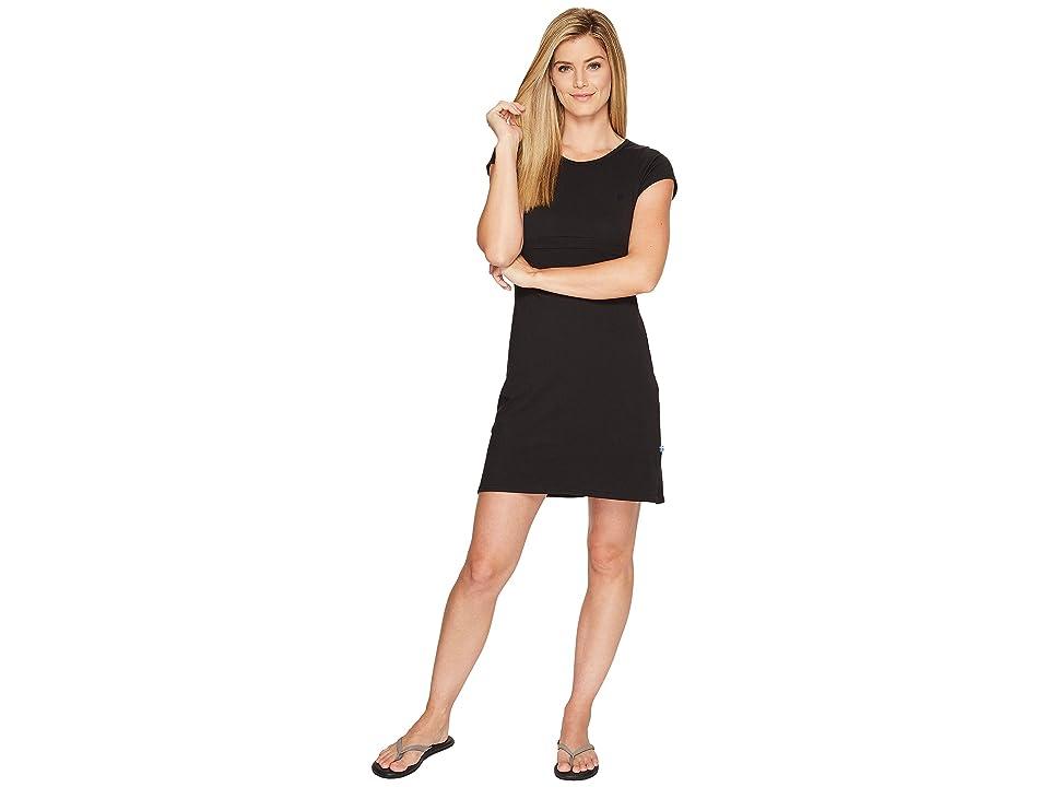 Fjallraven High Coast Dress (Black) Women