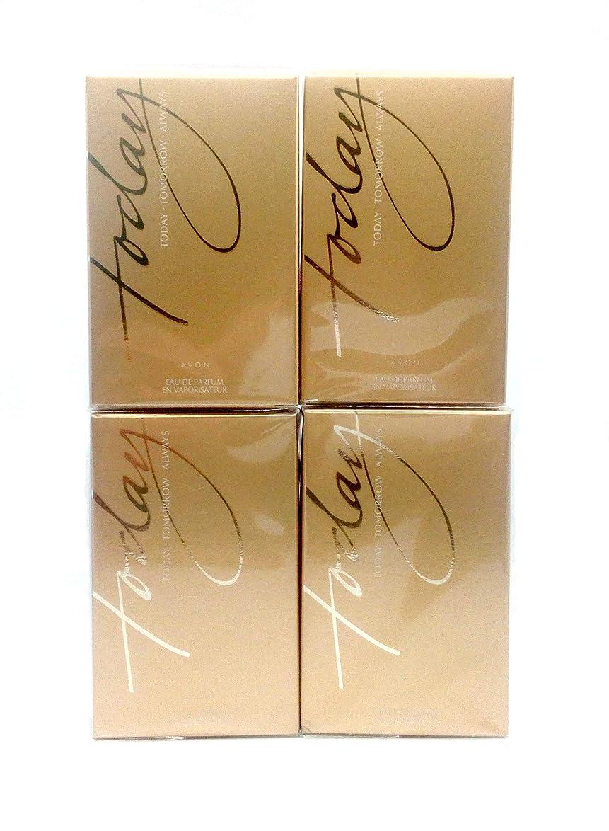 治安判事ギャラリー早く4 x AVON TODAY Tomorrow Always For Her Eau de Parfum 50ml