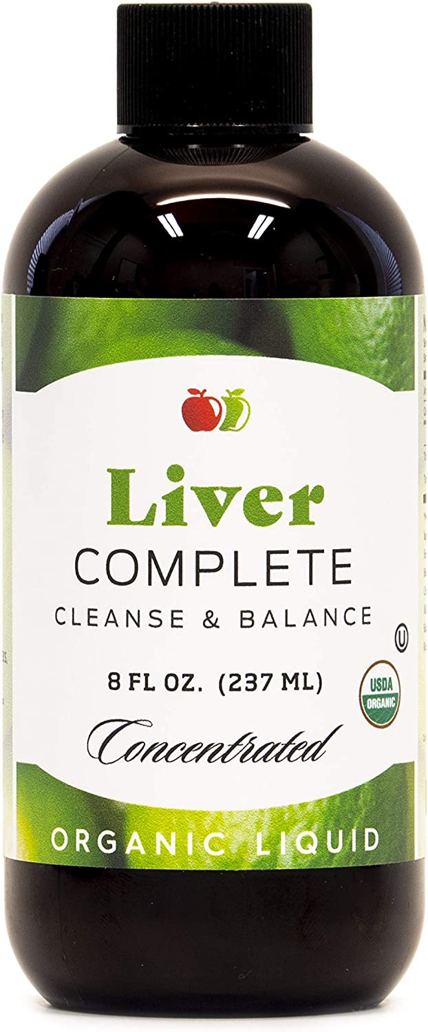 Liver Complete 8oz Manufacturer OFFicial Max 44% OFF shop Organic - Liquid Concentrate Cleanse