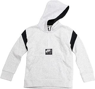 L Jordan Air Boys Youth Dri-Fit Long Sleeve Hoodie Shirt Size M XL