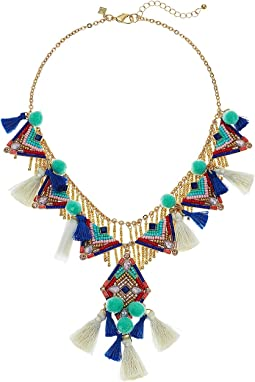 Geo Drama Statement Necklace